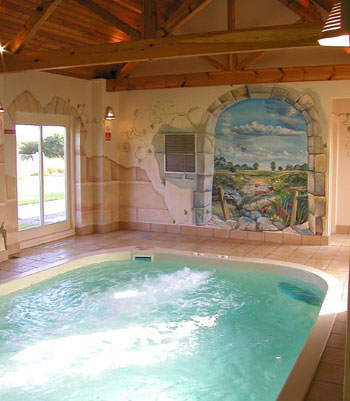 Self catering cottages in england with a swimming pool for Holiday cottages in wales with swimming pools